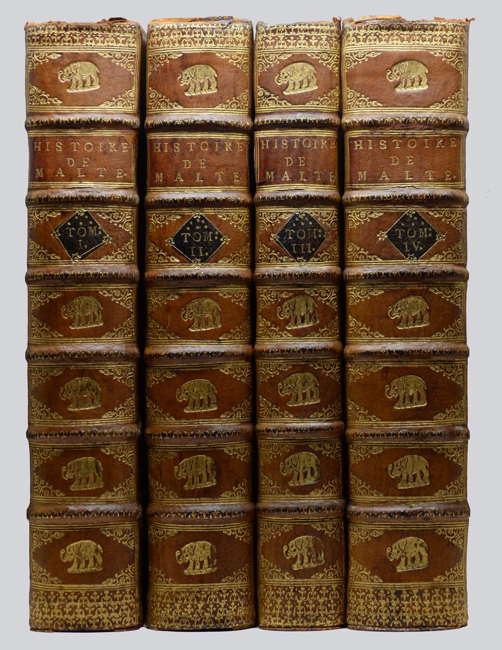 Histoire des Chevaliers de Malte, 1726.