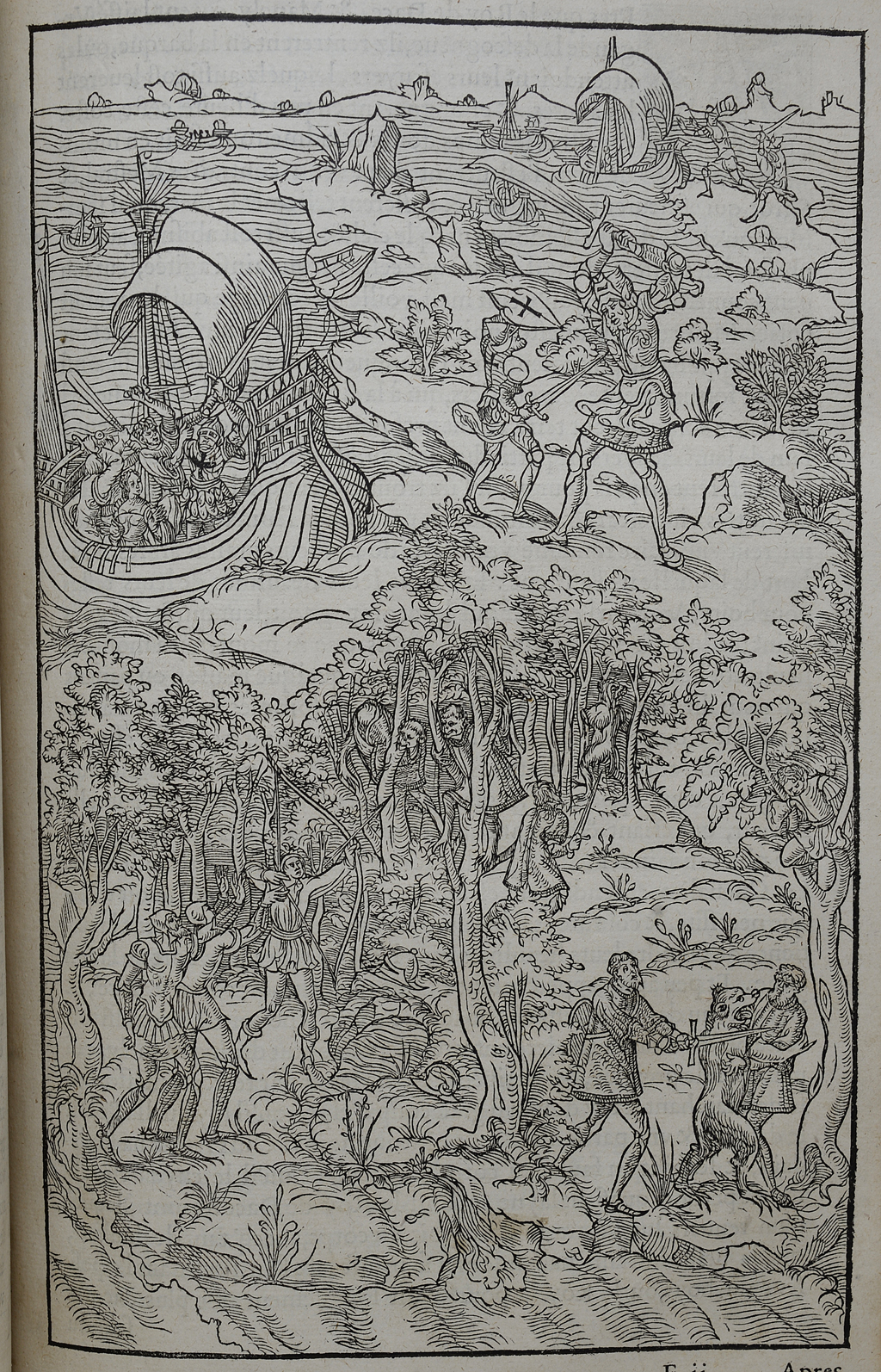 Amadis de Gaule, 1541-1559.