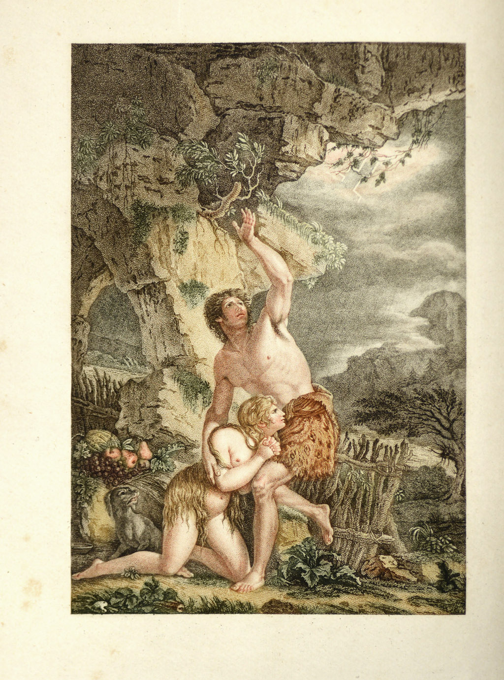 Gessner, Mort d'Abel, 1793.
