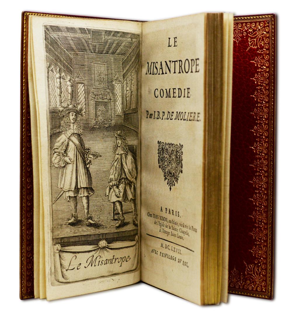 MOLIERE, Le Misantrope, 1667.