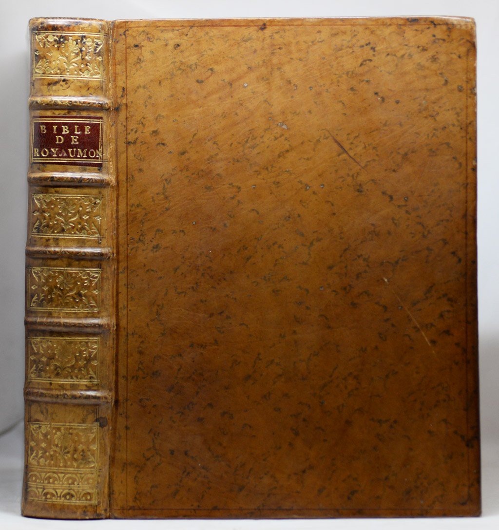 BIBLE DE ROYAUMONT, 1671-1674.