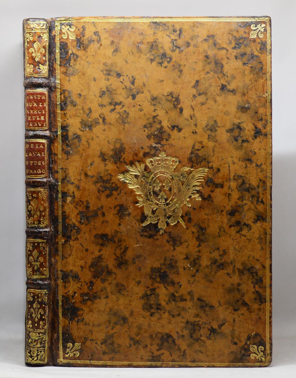INSTRUCTION SUR L'EXERCICE DE LA CAVALERIE, 1754.
