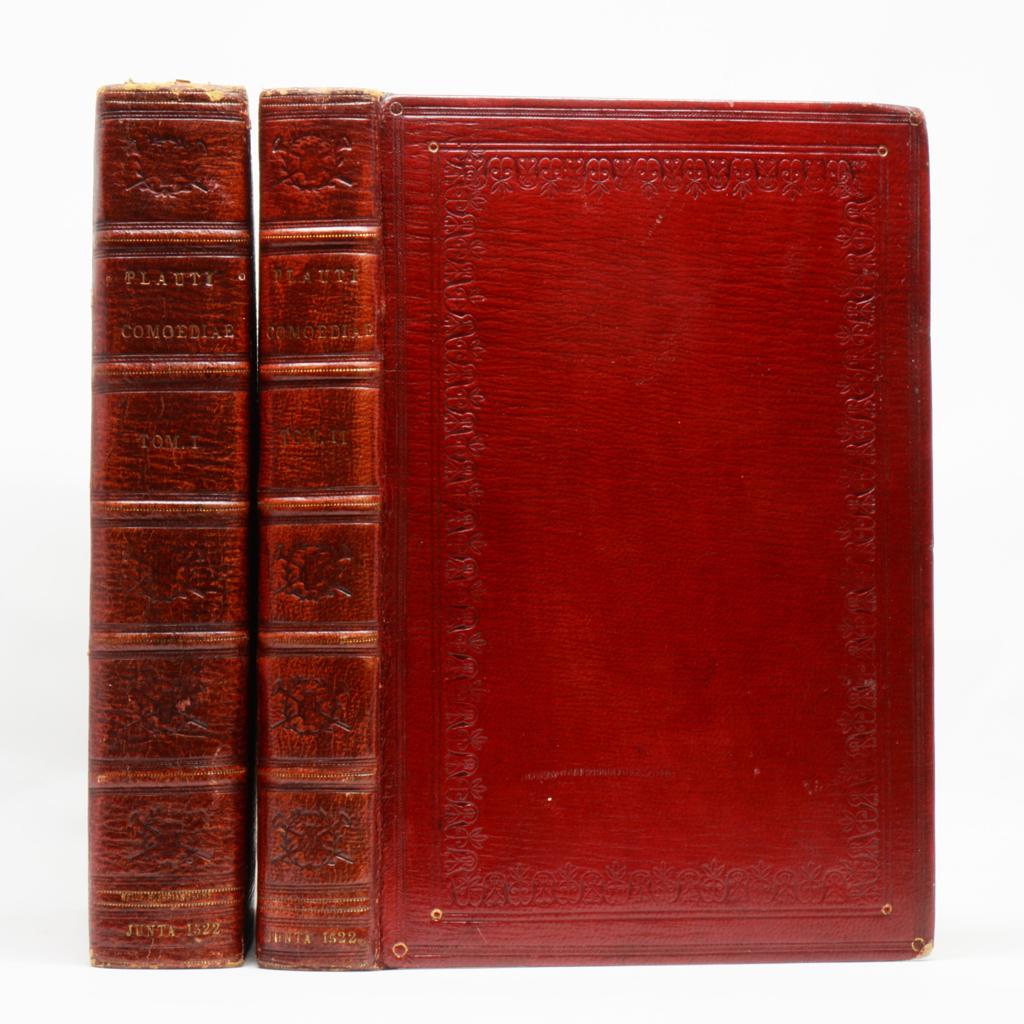 Plaute, Comédies, 1522
