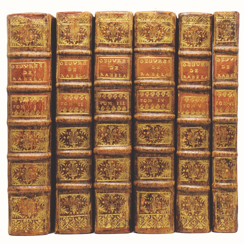 Rabelais, Oeuvres, 1732.