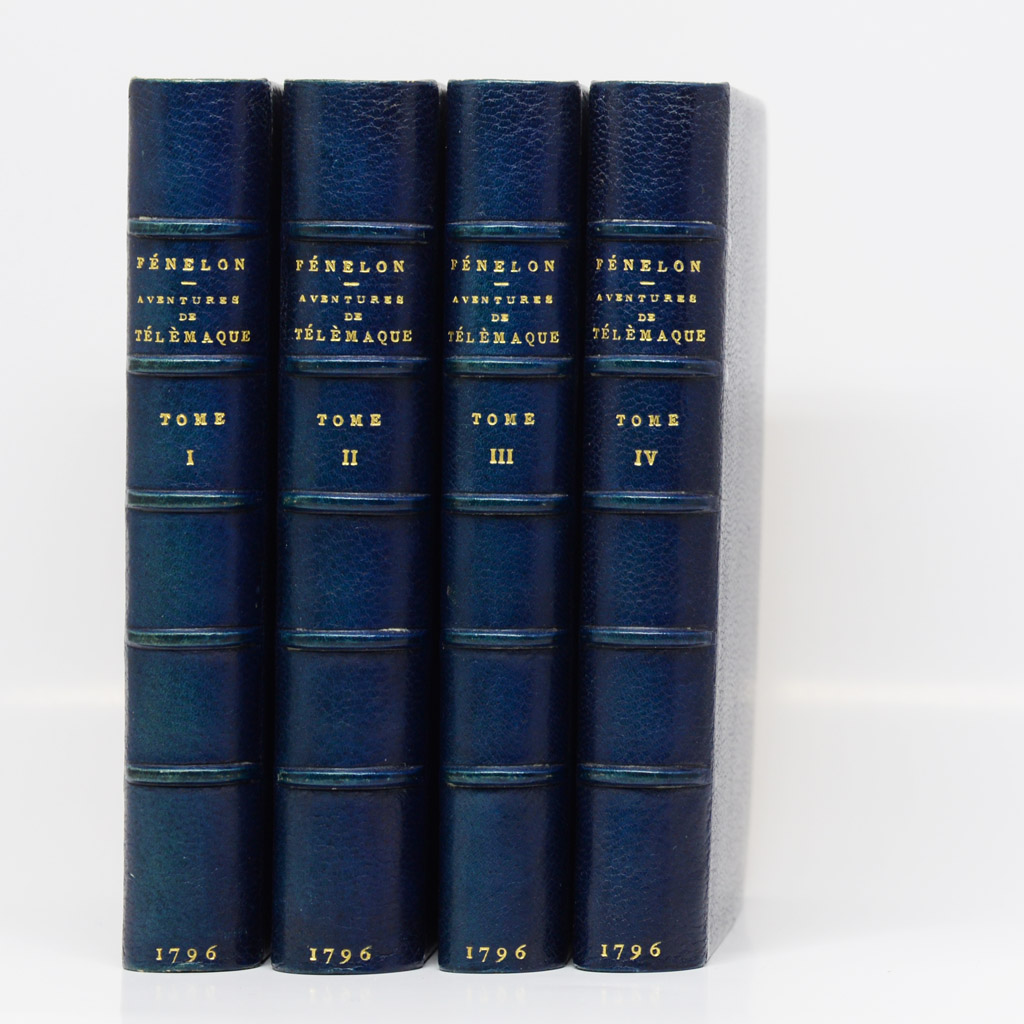 Fénelon, Les Aventures de Télémaque, 1796.